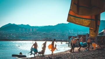 חופים עם שלל פעילויות